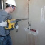 Штробление стен в панельном доме