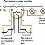 Установка проходных выключателей