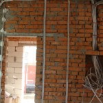 Замена электропроводки в коттедже